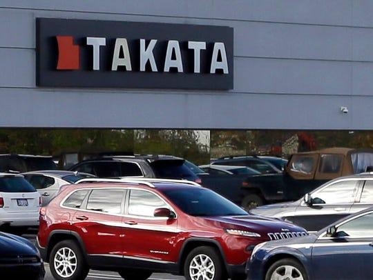 North American headquarters of Takata in Auburn Hills,