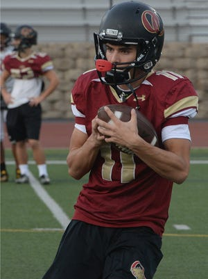 After racking up 63 catches, 1,168 receiving yards and nine touchdowns in his sophomore season, Bryce Farrell will be a major threat for the Oaks Christian offense in 2018.