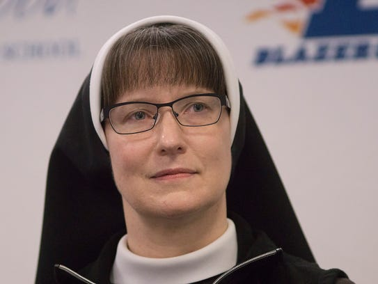 Dean of Mission and Ministry, Sr Felicity Marie Madigan.