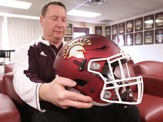 St. Thomas Aquinas College's new sprint football head