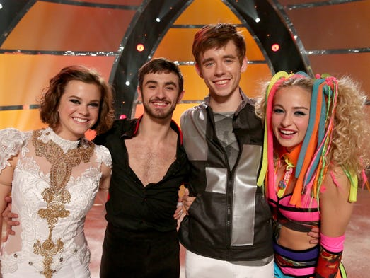 "Valerie Rockey, left, has advanced to the Top 4 on this season of ""So You Think You Can Dance."" Her fellow competitors are Ricky Ubeda, Zack Everhart Jr. and Jessica Richens."