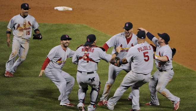 Chris Carpenter and the Cardinals ousted the Phillies in 2011.