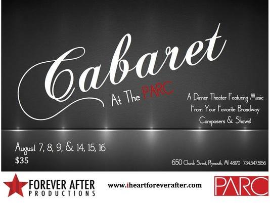 Cabaret August 2015