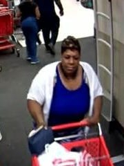 Jackson police are trying to identify this woman in connection with a shoplifting from Target.