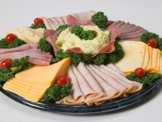 Cold cut trays should not be left out at room temperature