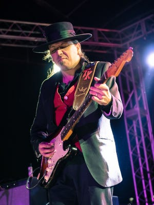 Stevie Ray Vaughan tribute group Texas Flood, which will feature Tommy Katona on guitar and vocals, will bring on the bluesy riffs for its concert June 15 at The Forum.
