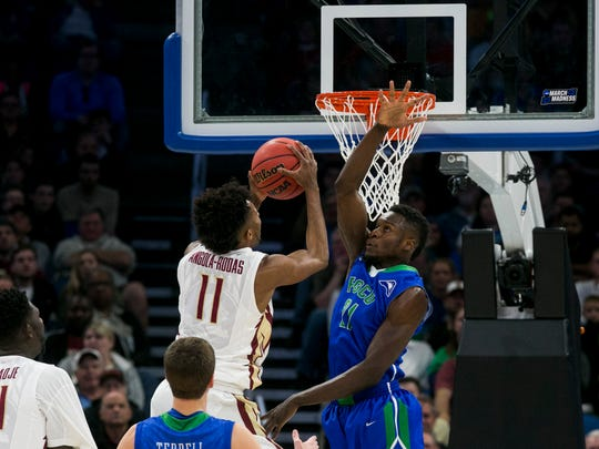 Florida Gulf Coast University senior Demetris Morant,