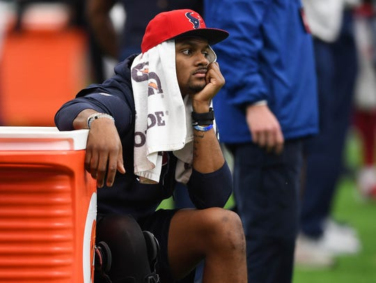 A sterling start for Deshaun Watson in Houston was spoiled by injury. The Texans' future rests on his recovery.