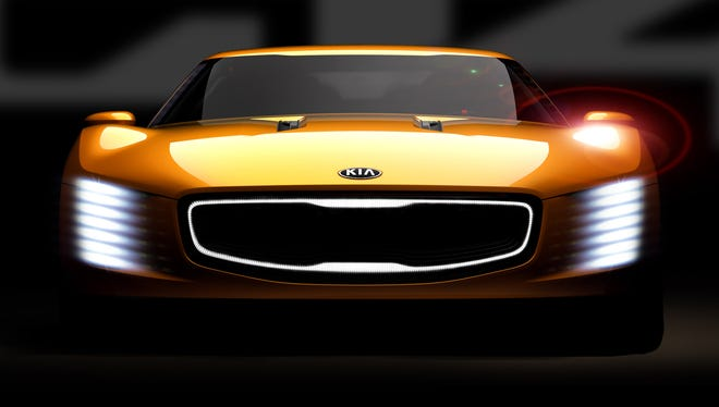 Kia hopes to make a splash with its GT4 Stinger concept