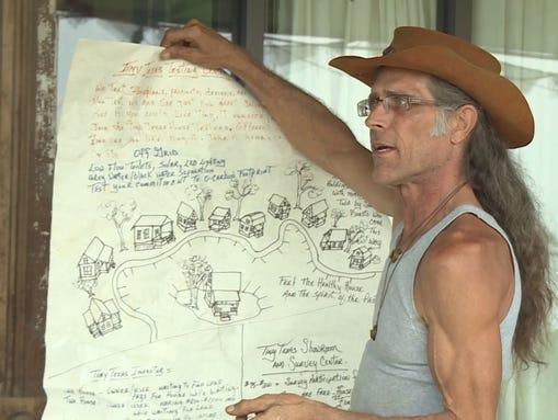 Brad Kittel said he is spending millions to create Small Living community