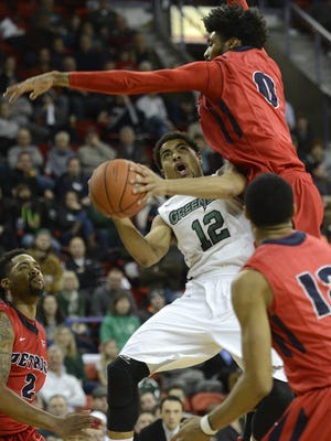 Carrington Love and UWGB will open the season at Stanford on Friday.
