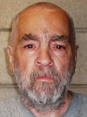 Inmate Charles Manson in 2009.