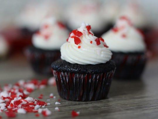This custom cupcake made by Amanda Saab is inspired