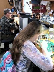 Cameron Spicknall and his daughter Jennifer Loos work