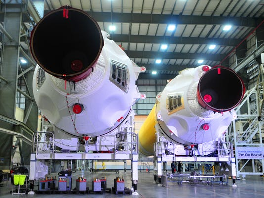 BOOSTERS FOR ORION SPACECRAFT 11