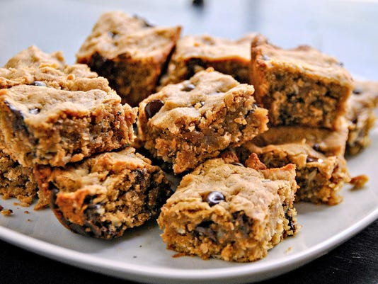 One good recipe: Peanut Butter Chocolate Chip Oatmeal Bars
