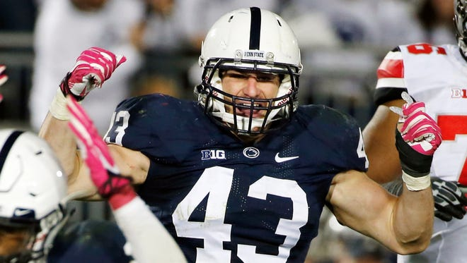 Penn State linebacker Mike Hull.