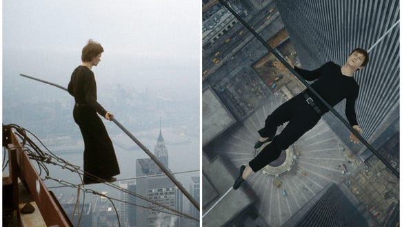 philippe petit the man on wire Philippe petit's legacy will forever be linked to the twin towers the buildings the aerialist walked a high-wire between seventeen years on from the terrorist attack that led to the.