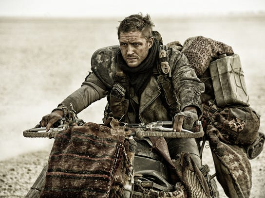 "Tom Hardy stars in ""Mad Max: Fury Road."" The movie"