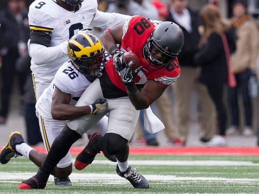 NCAA Football: Michigan at Ohio State