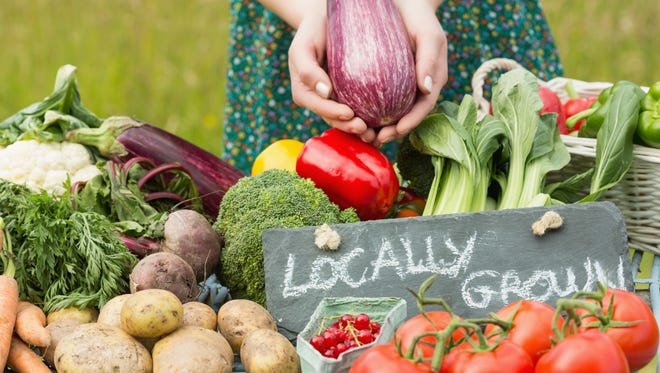 Locally grown foods