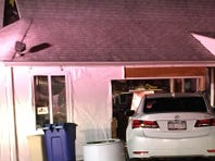 A car struck the Little Spot restaurant in North White Plains Thursday, Oct. 29, 2015. One person taken to hospital with minor injuries. North White Plains firefighters shored up the building.