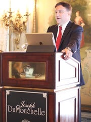 Birmingham-based auctioneer Joseph DuMouchelle at the