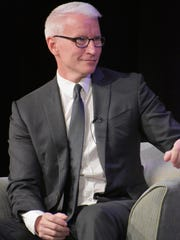 """Anderson Cooper, host of CNN's Anderson Cooper 360, spoke to guests attending the kick off of Kaplen JCC on the Palisades' """"Patron of the Arts"""" program."""