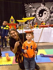 Enjoy juggling with Cascading Carlos at the Delmarva Kids Expo.