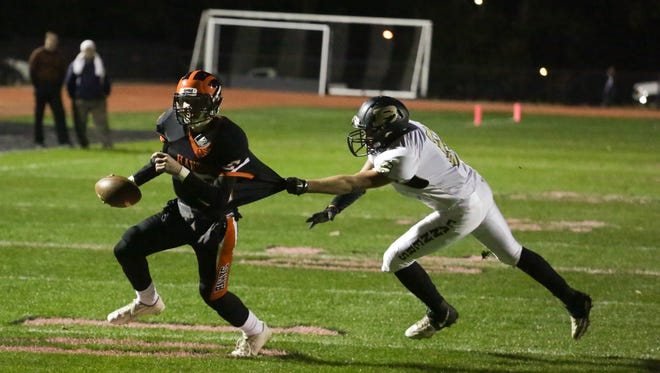 Hanover's Cam Mumma is back for his second season as the team's starting quarterback.