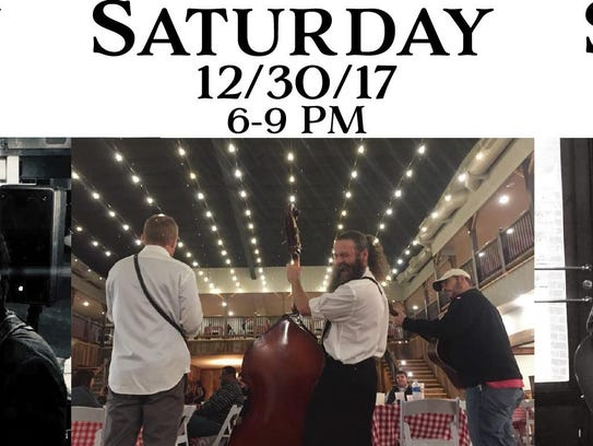 The Crumbs play from 6-9 p.m. Saturday at White River
