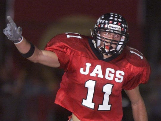 Jackson's Nick Castellano's TD against Toms River Northin 2000 helped spark back-to-backunbeaten seasons.