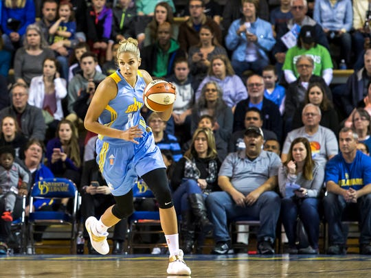 WHO: Elena Delle Donne, basketball DETAILS: The Ursuline Academy and University of Delaware graduate is heading to Rio for her first Olympics. She plays for the WNBA's Chicago Sky.