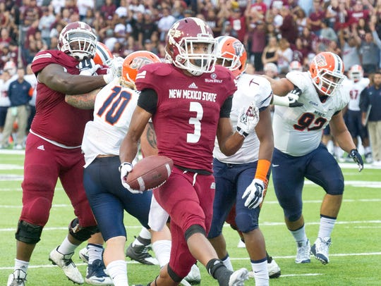 Can Larry Rose III and the New Mexico State offense