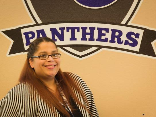 Sheila Morales, Library Media Assistant, Claggett Creek