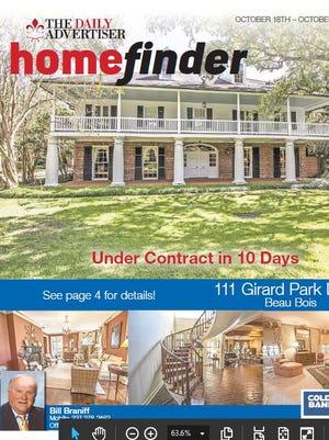 Take a look inside this week's Homefinder.