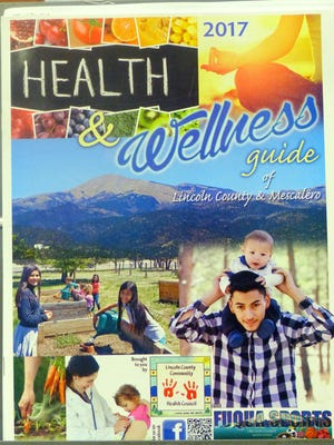 The Health and Wellness 2017 cover features Sierra Blanca Peak.