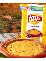 Lay's Chile Con Queso flavor. Picture courtesy of Frito