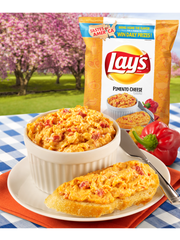 Lay's Pimento Cheese flavor. Picture courtesy of Frito