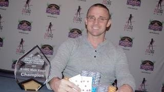 Josh Gibson, 31, of Fort Myers, won  the Seminole Immokalee Poker Challenge Main Event earning $50,000 on Sunday.
