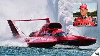 Unlimited driver J. Michael Kelly is also coming to Evansville's HydroFest Sept. 1-3