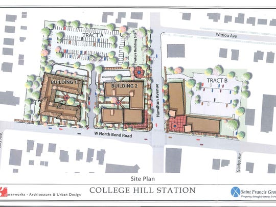 Rendering of College Hill Station