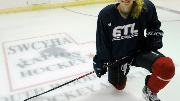 Wisconsin Rapids Lincoln sophomore Kyleigh Hanzlik verbally committed to play hockey at the University of Wisconsin. She will be part of the Badgers' 2017 recruiting class.