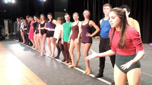 "Harrison High School's production of ""A Chorus Line"" is up for 11 Metro Awards when the high-school-musical awards are handed out at Archbishop Stepinac High School on June 2."