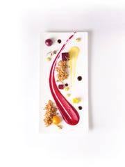 Beets star in this dish from Art Culinarian chef Brian