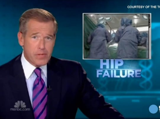 Brian Williams 'raps'