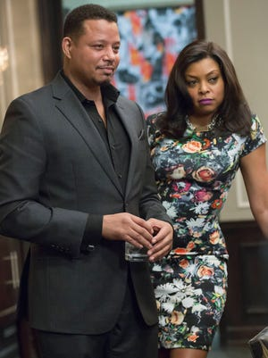 Terrence Howard and Taraji P. Henson lead the cast of Fox drama 'Empire,' which won program of the year at the Television Critics Association's 2015 awards.