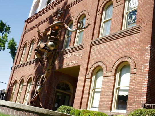 Old City Hall in downtown Redding is located in the