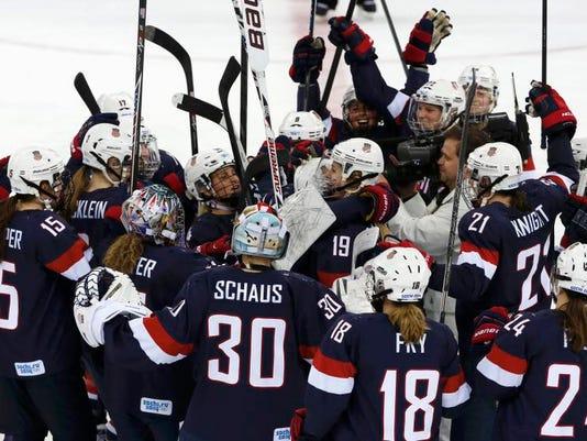 0218 US Women's Hockey