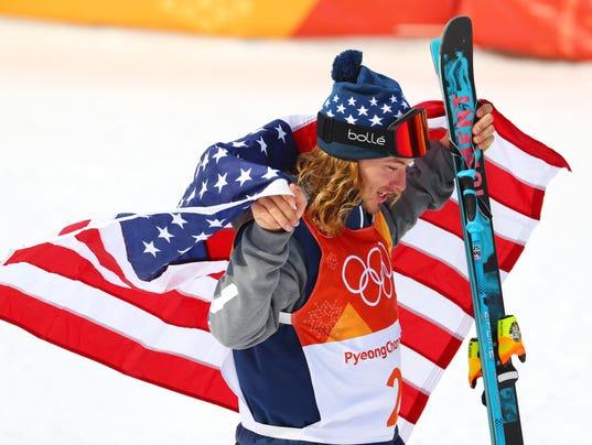 Olympics: Freestyle Skiing-Mens Halfpipe Final